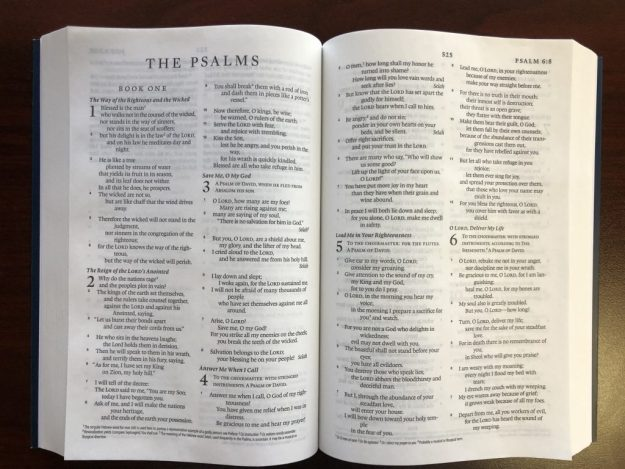 Inside the ESV-Catholic Edition Bible 1