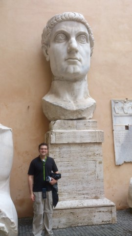 Me with Constantine