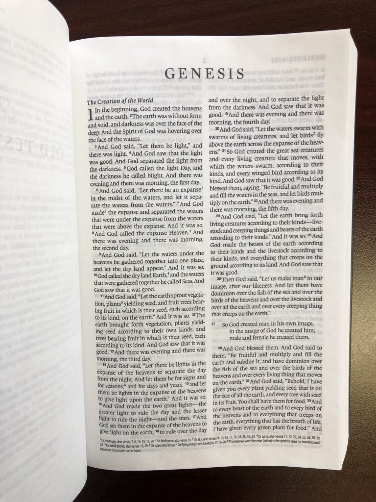 Inside the ESV-Catholic Edition Bible 2